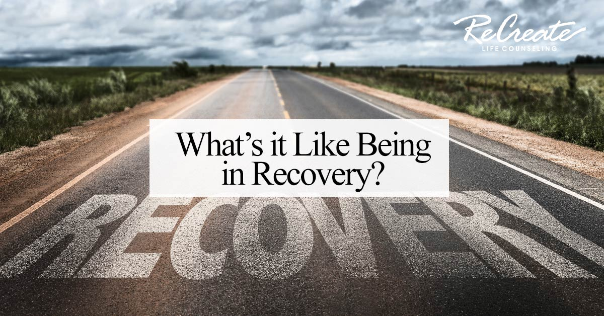 being in recovery